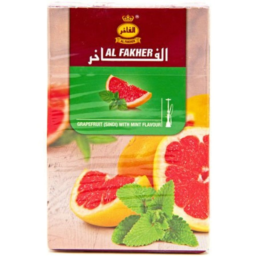Al fakher / 50g - Grapefruit w. mint