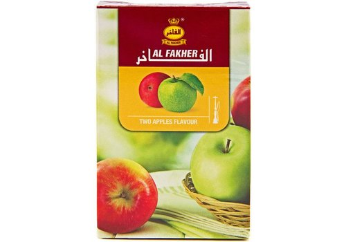 Al Fakher Al fakher / 50g - Two apples