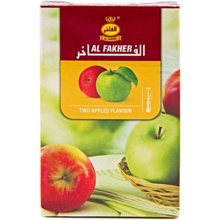 Al fakher / 50g - Two apples