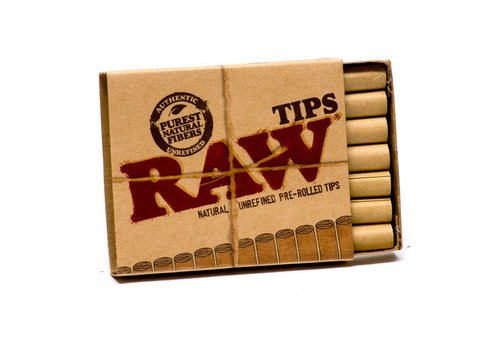 Raw Raw Tips Pre Rolled