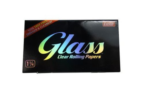 Glass Clear Paper 1 1/4