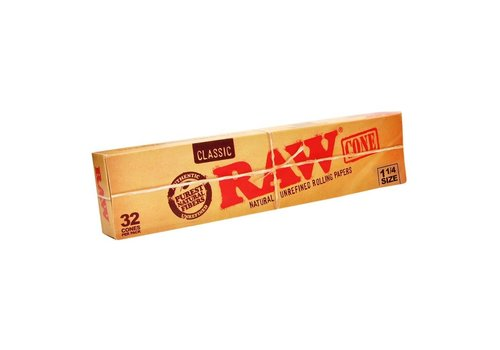 Raw Raw Classic Cones King Size (32 pk)