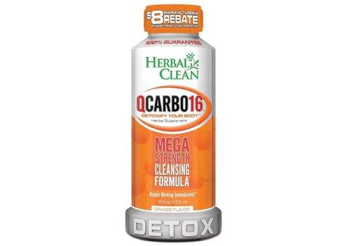 Herbal Clean QCarbo 16 oz (Orange)
