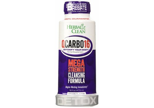 Herbal Clean QCarbo 16 oz (Grape)