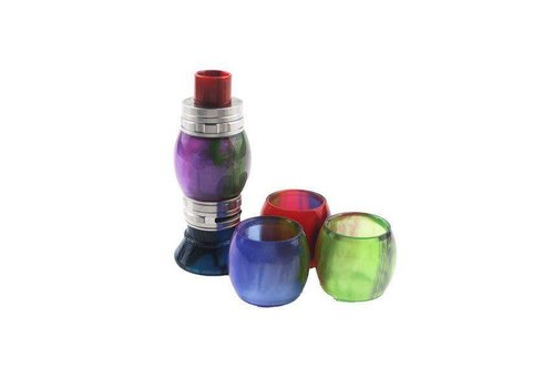 Colored Resin TFV8 Glass