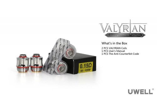 uwell Uwell Valyrian Coil 0.15 (2 pack)