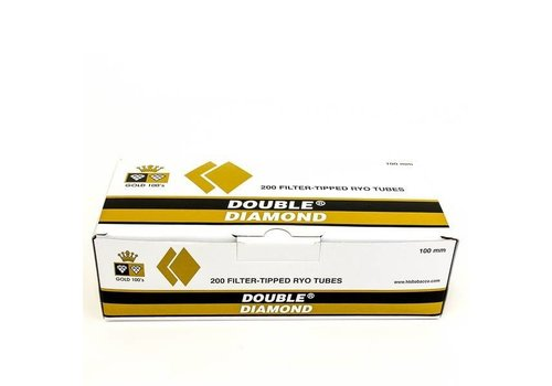 Double Platinum Double Diamond 100mm Gold