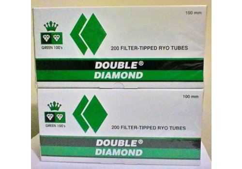 Double Platinum Double Diamond 100mm Menthol