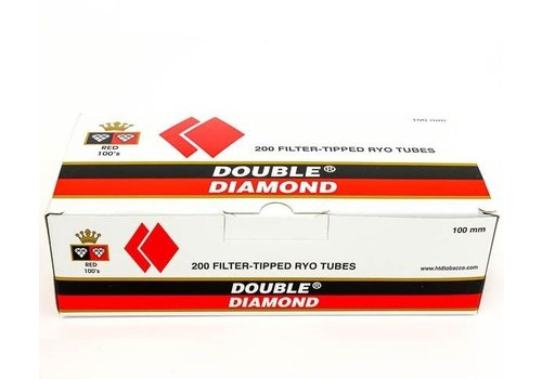 Double Platinum Double Diamond 100mm Red