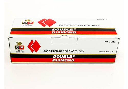 Double Platinum Double Diamond King Size Red