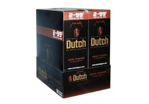 Dutch Master Cigarillos Java Fusion