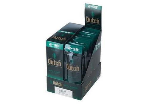 Dutch Master Cigarillos Mint Fusion