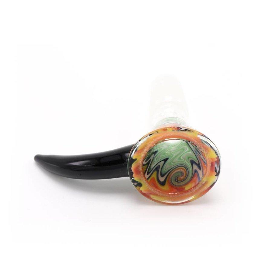 14mm Swirl Bowl Male