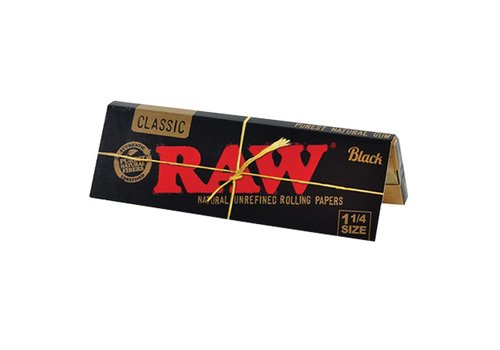 Raw Raw Black Classic 1 1/4