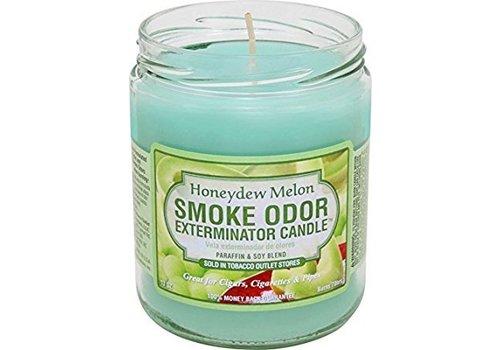 smoke odor Smoke Odor Exterminator Candle Honeydew Melon