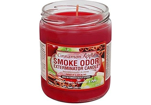 smoke odor Smoke odor exterminator candle Cinnamon Apple