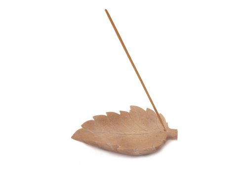 bombay incense Stone Leaf Ash Catcher