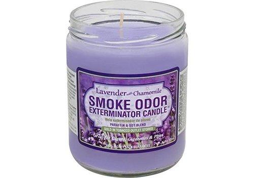 smoke odor Smoke odor exterminator candle Lavender & Chamomile