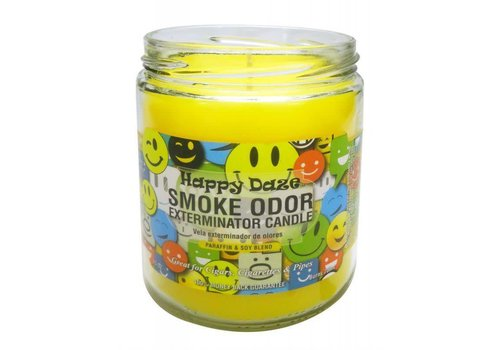smoke odor Smoke Odor Exterminator Candle happy daze