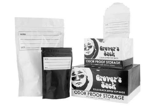 Grover's Sack Odor Proof Storage 8'' x 5''