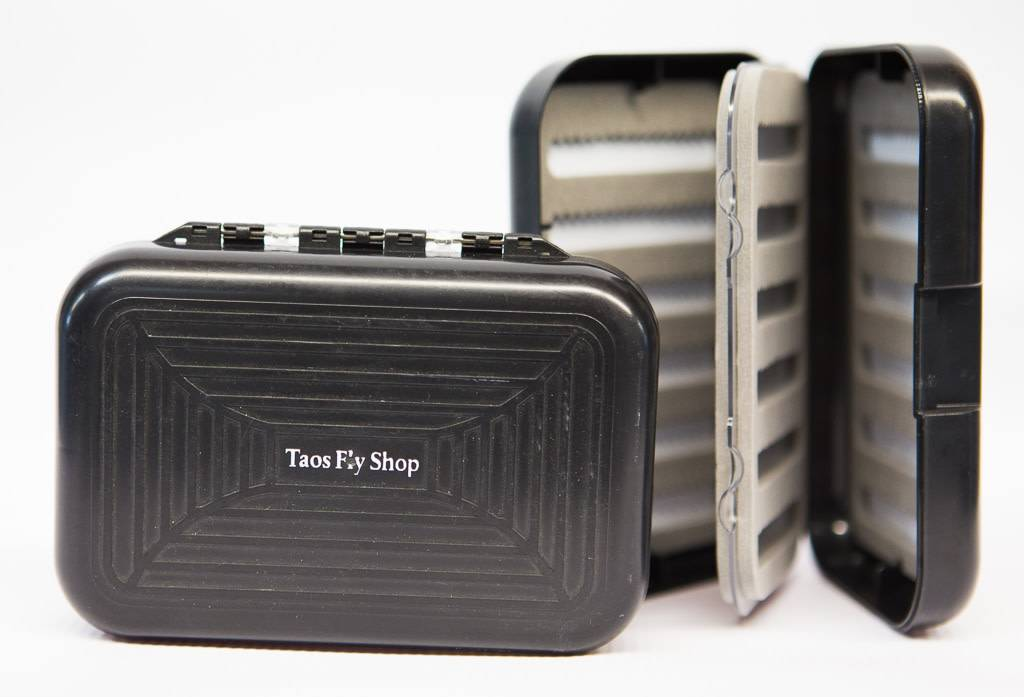 Taos Fly Shop Fly Box with Leaf Insert