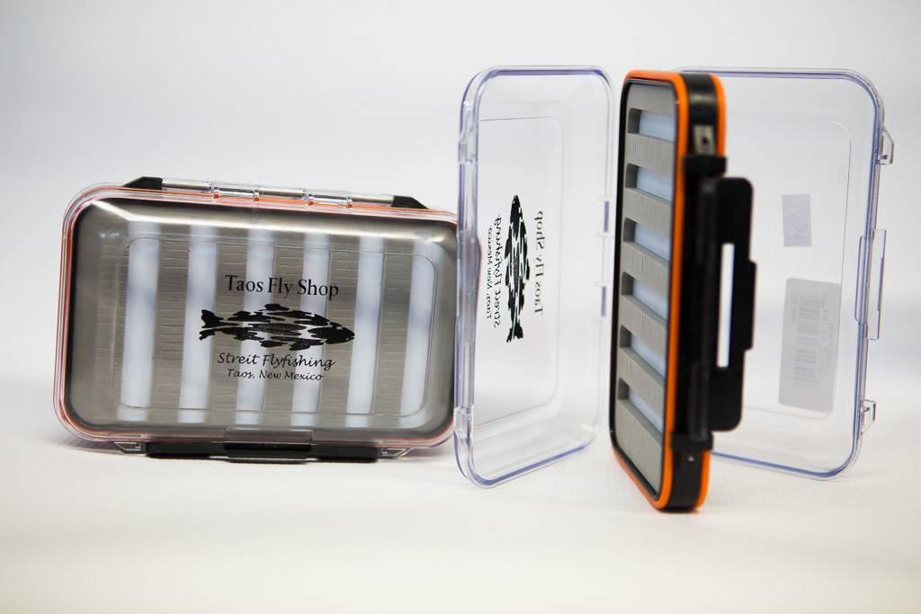 Orange Large Waterproof Taos Fly Shop Fly Box
