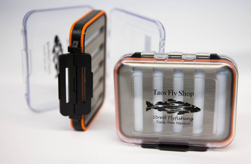 New Phase Orange Waterproof Taos Fly Shop Fly Box