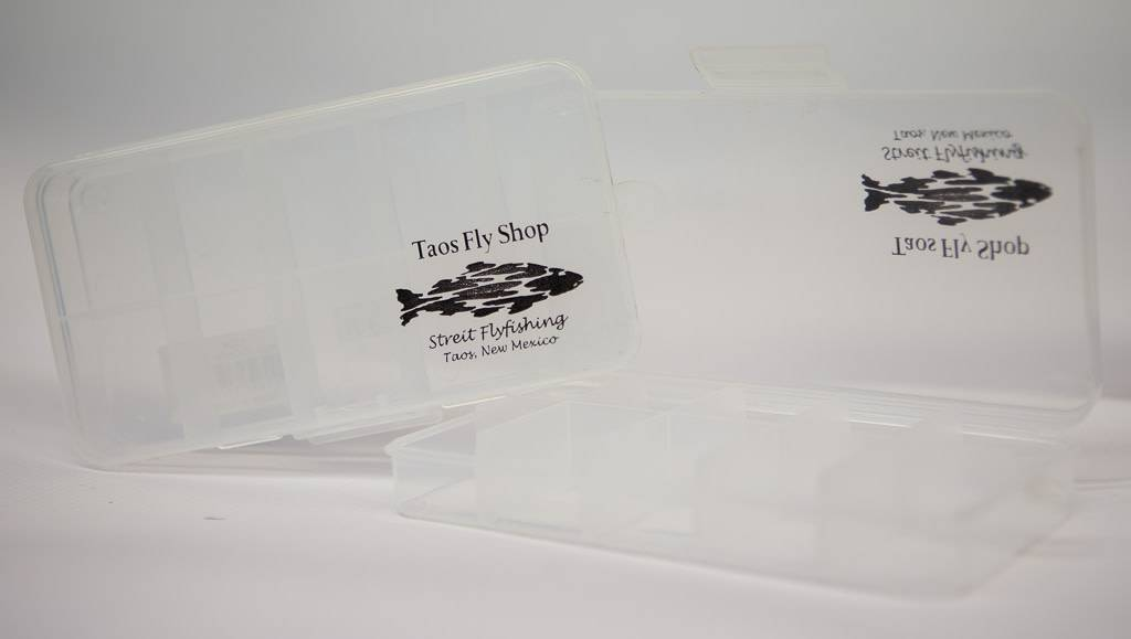 5 Compartment Clear Taos Fly Shop Fly Box