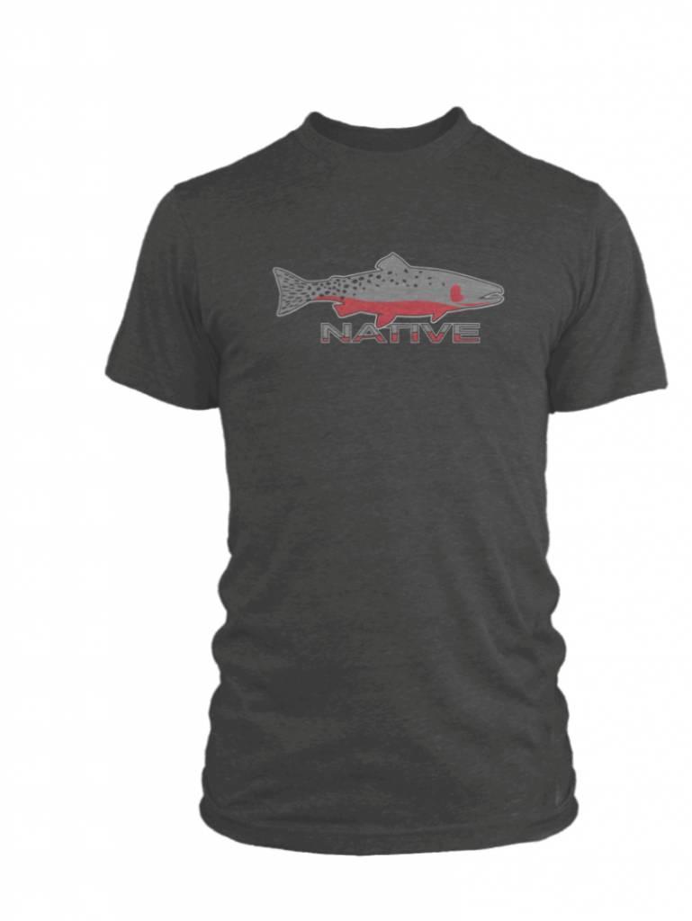 Rep Your Water Native Tee Dark Gray