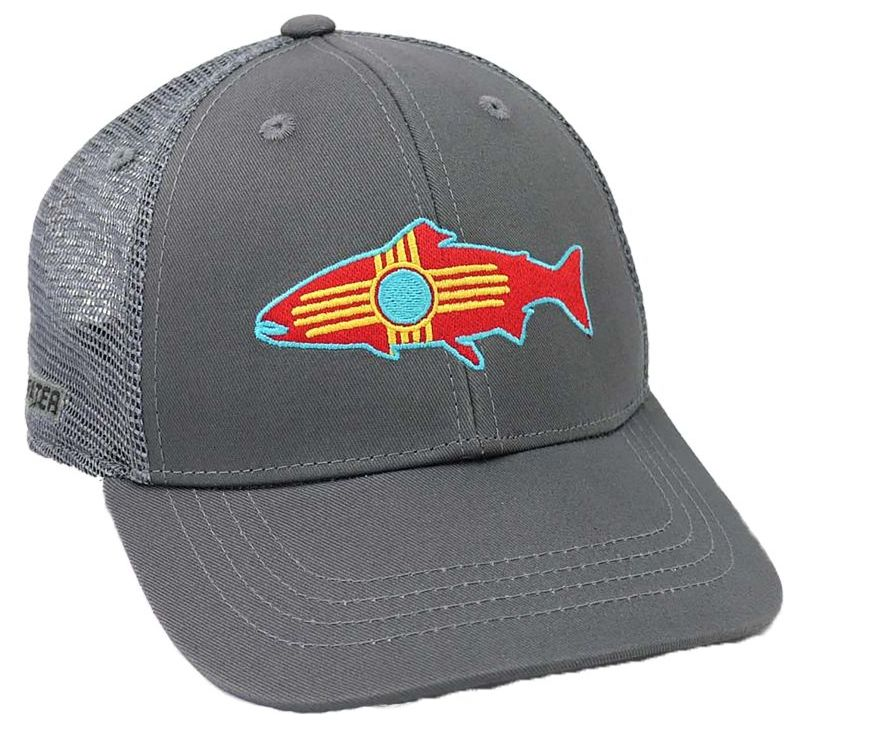 Rep Your Water NM Fish Hat Grey
