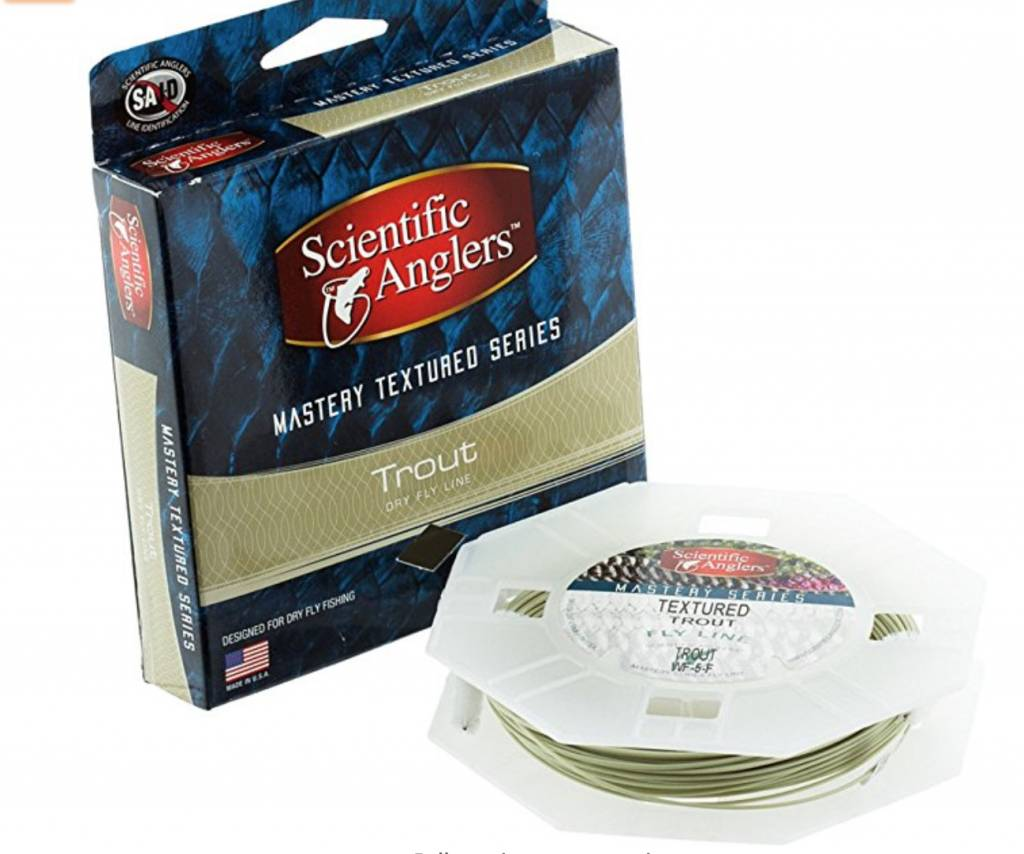 Scientific Anglers Mastery Textured Series Trout Stalker Fly Line WF4F