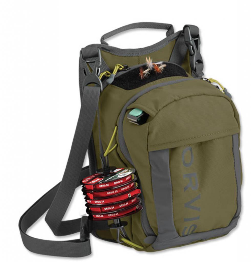 Orvis Safe Passage Chip Pack Green
