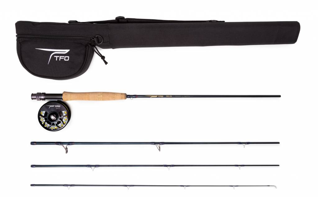 TFO Temple Fork Outfitters Pro LTD Series Kit 590-4