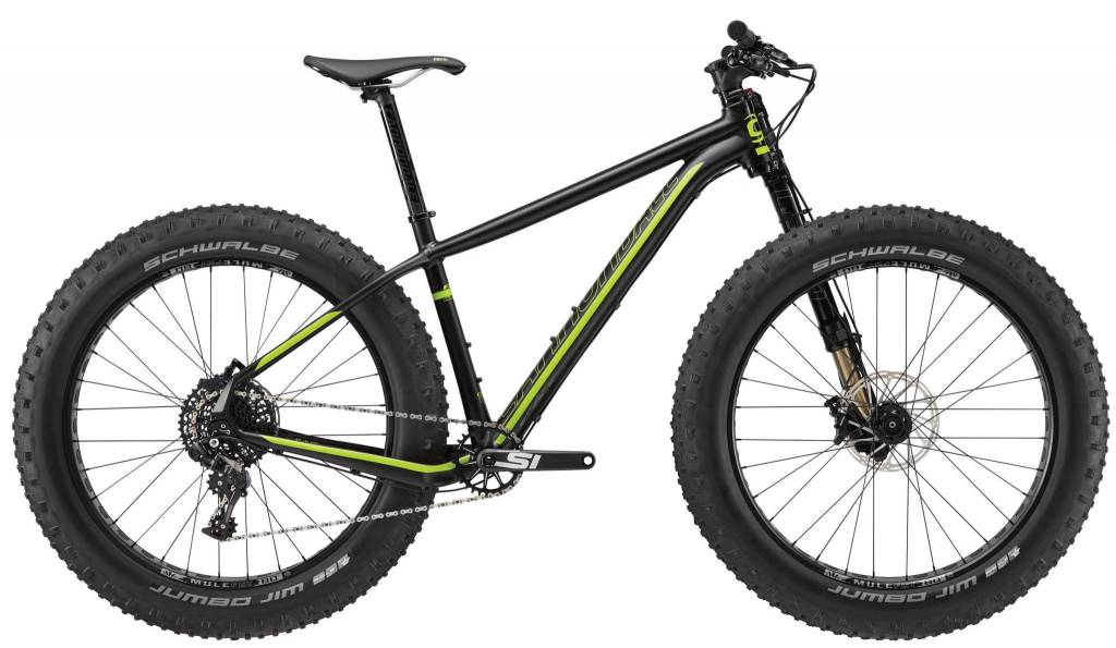 Cannondale 2017 Cannondale Fat CAAD 1 Black MD