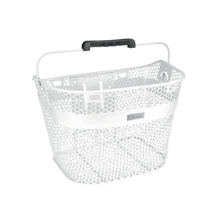 Electra Electra Basket Pearl White Linear QR Mesh Metallic