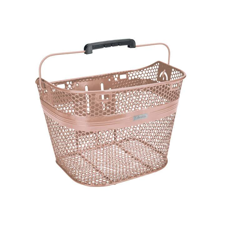 Electra Electra Basket Linear QR Mesh Metallic Rose Gold