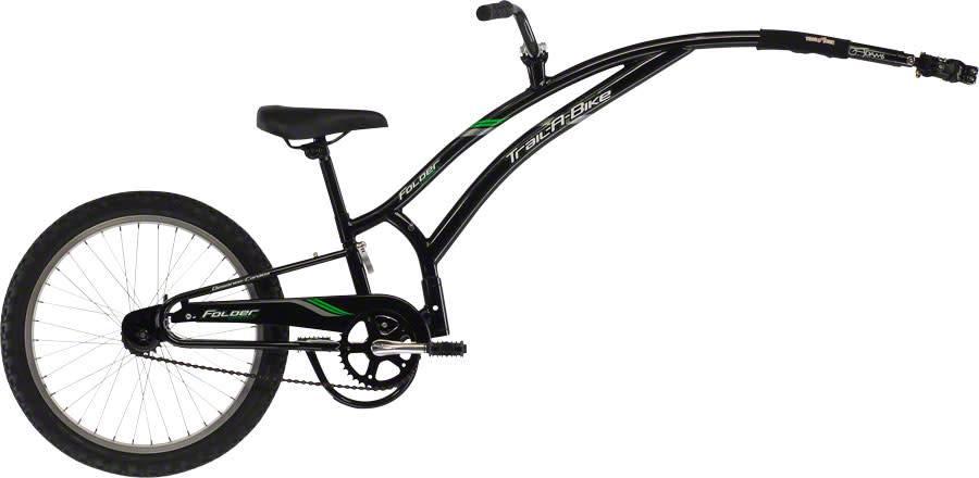 Adams Trail A Bikes Adams Trail A Bike Compact Folder Child Trailer: Black