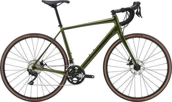 Cannondale 2019 Cannondale Topstone Sora Vulcan Green