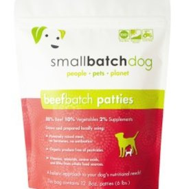 Small Batch Small Batch beef frozen dog food