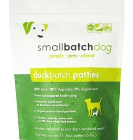 Small Batch Small Batch duck frozen dog food