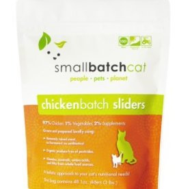 Small Batch Small Batch Cat Chicken Sliders 3lb