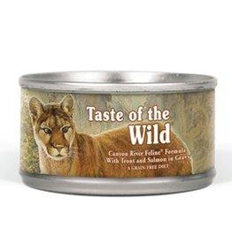 Taste of the Wild TOW Canyon River feline 5.5oz single can