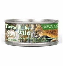 Taste of the Wild TOW Rocky Mnt feline 5.5oz single can