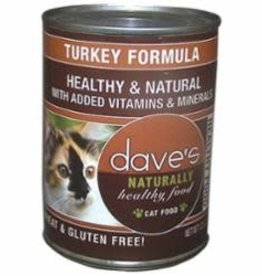 Daves Daves Naturally healthy turkey 12.5 oz case