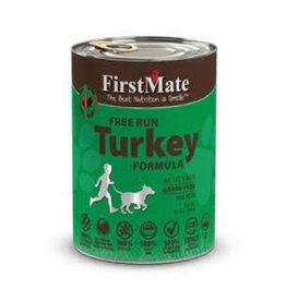 First Mate FirstMate GF LID Turkey Dog Food Can 12.2oz