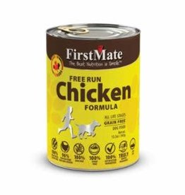 First Mate FirstMate GF LID Chicken Dog Food Can 12.2oz