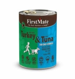 First Mate FirstMate GF LID Turkey/Tuna Dog Food Can 12.2oz