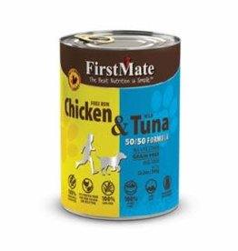 First Mate FirstMate GF LID Chicken/Tuna Dog Food Can 12.2oz