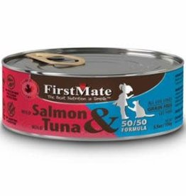 First Mate FirstMate GF LID Salmon/Tuna Cat Food Can 5.5oz