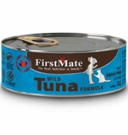 First Mate FirstMate GF LID Tuna Cat Food Can 5.5oz